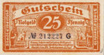 Germany, 25 Pfennig, E13.4