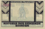 Germany, 75 Pfennig, 353.1