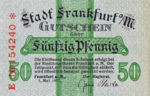 Germany, 50 Pfennig, F16.1h