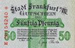Germany, 50 Pfennig, F16.1h