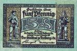 Germany, 5 Pfennig, F19.3a