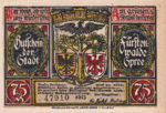 Germany, 75 Pfennig, 403.1a