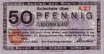 Germany, 50 Pfennig, K30.11b