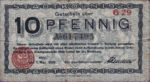 Germany, 10 Pfennig, K30.9a