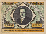 Germany, 75 Pfennig, 795.1a