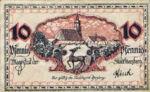 Germany, 10 Pfennig, H33.3c