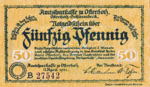 Germany, 50 Pfennig, O29.3b