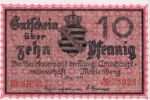 Germany, 10 Pfennig, M8.2a