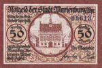 Germany, 50 Pfennig, M9.5a