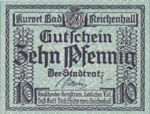 Germany, 10 Pfennig, R22.5