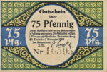 Germany, 75 Pfennig, 1167.1a