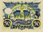 Germany, 50 Pfennig, S127.4b
