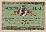 Germany, 75 Pfennig, 1323.2a