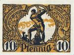 Germany, 10 Pfennig, Z13.3