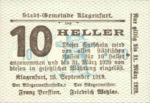 Austria, 10 Heller, FS 451b