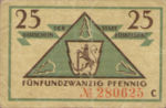 Germany, 25 Pfennig, D35.5