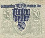 Austria, 50 Heller, FS 1167Ib