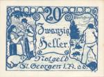 Austria, 20 Heller, FS 888IIa