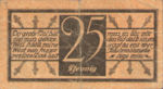 Germany, 25 Pfennig, C17.2a