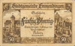 Germany, 50 Pfennig, E17.7a