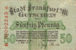 Germany, 50 Pfennig, F16.1e