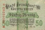 Germany, 50 Pfennig, F16.1e