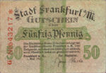 Germany, 50 Pfennig, F16.1l