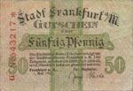 Germany, 50 Pfennig, F16.1l