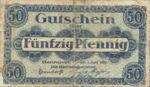Germany, 50 Pfennig, H13.4a