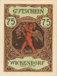 Austria, 75 Heller, FS 1182Ib