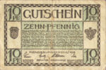 Germany, 10 Pfennig, R26.3a