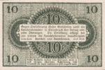Germany, 10 Pfennig, O26.4a