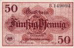 Germany, 50 Pfennig, O26.4c
