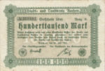 Germany, 100,000 Mark, 1b