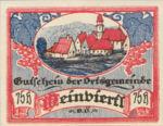 Austria, 75 Heller, FS 1150IIb
