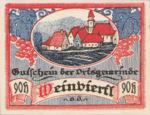 Austria, 90 Heller, FS 1150IIb