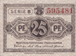 Germany, 25 Pfennig, M21.2a