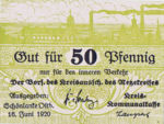 Germany, 50 Pfennig, N10.1b