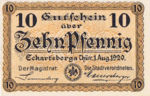 Germany, 10 Pfennig, E5.2a