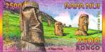 Easter Island, 2,500 Rongo,
