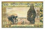West African States, 500 Franc, P-0702Kn