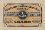 Germany, 1 Mark, 172.1b