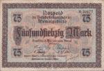 Memel, 75 Mark, P-0008,881.3