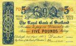 Scotland, 5 Pound, P-0326b
