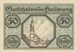 Austria, 50 Heller, FS 346a