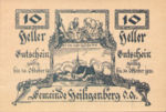 Austria, 10 Heller, FS 361IIc