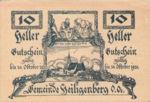 Austria, 10 Heller, FS 361IId