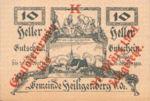 Austria, 10 Heller, FS 361SS1