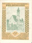 Austria, 20 Heller, FS 196IIj