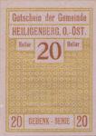 Austria, 20 Heller, FS 361Id
